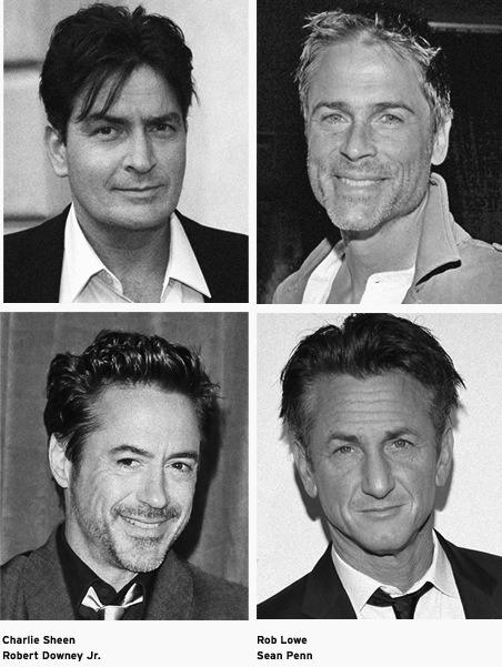 "In the early 1980s, Rob Lowe, Charlie Sheen, Robert Downey Jr., and Sean Penn were all friends at Santa Monica High School. Also in their crowd? Holly Robinson—and, of course, Emilio Estevez. Lowe wrote about those teenage years in his best-selling autobiography, Stories I Only Tell My Friends, and talked about his old pal Sheen on Access Hollywood last year. ""We went to a big high school, and I can remember Charlie, for some reason, was wearing a bulletproof vest to school because he thought the gangs were going to get him. Charlie has some thoughts—there's no two ways about it."" And then Lowe added this somewhat unbelievable memory: ""We were both nerds, man. I am telling you—he wanted to be a baseball player."""