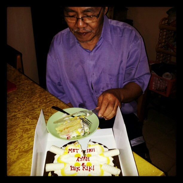 #the #birthday #big #boy #father (Taken with instagram)