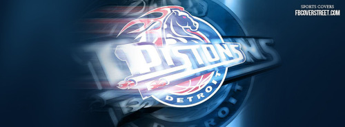 Detroit Pistons Logo 2 Facebook Cover