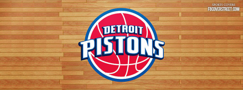 Detroit Pistons Logo 3 Facebook Cover