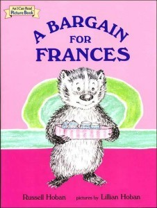 """Russell Hoban's ""Frances the Badger"" #kidlit series was a staple of my childhood. My mom read Bedtime for Frances to me umpteen times, umpteen being defined as so many times that she memorized it and not so many times as I got tired of hearing it. It captured something, this precocious, semi-sweet, and – alright let's just say it – obnoxious little girl badger. Badger – get it? Frances badgered."" Russell Hoban's Frances the Badger"