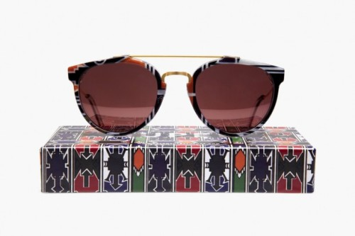 "Oh HELLO sunshine!! WOKstore x SUPER Ndebele Special Sunglasses in celebration of SUPER's new project, ""SUPER moves to"", a project traveling to selected stores in the world which will host the most complete selection of Super eyewear & exclusive limited edition products. The first stop will be WOKstore in Milan. The shop will be open from April 17 for the next three months, through July 30."