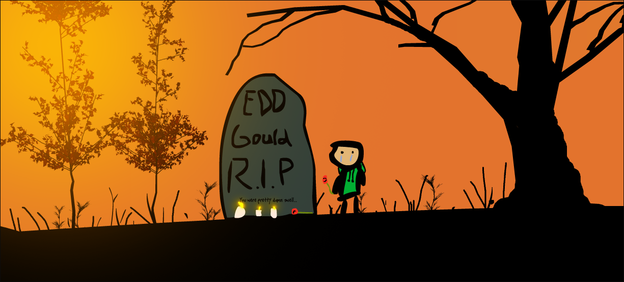 Rest in Peace, you were the best animator ever mate (:Hope you get loads of cola for free in heaven ^-^