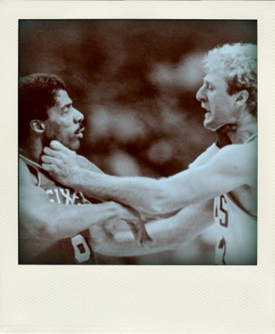 Julius Erving vs Larry Bird