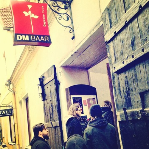 Where do we go to hang out in Estonia? The Depeche Mode Bar, obviously. (Taken with instagram)