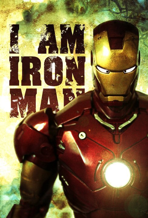 hayleyquinnn:  Three more weeks! I Am Fe Man, by Joel Lee.  Reblog all Iron Man. Psyched as fuck, btw. The Avengers comes out a few days after I get the hell out of school. I haven't had compound excitement like this since  I was finishing my junior year of HS four years ago in '08 on the same day MGS4 and The Incredible Hulk came out.