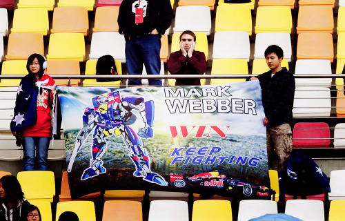 Mark Webber as Optimus Prime.