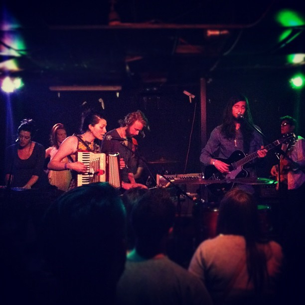 The Soil & the Sun at Mac's Bar, 4/12/12 (Taken with instagram)