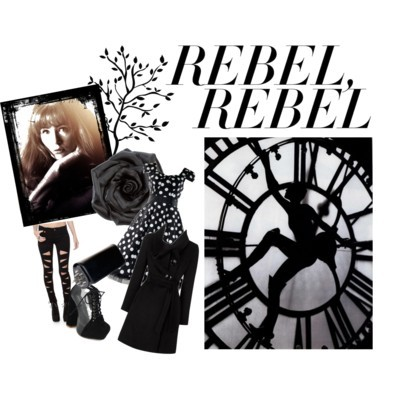 Rebel by hopeocean featuring skinny jeans