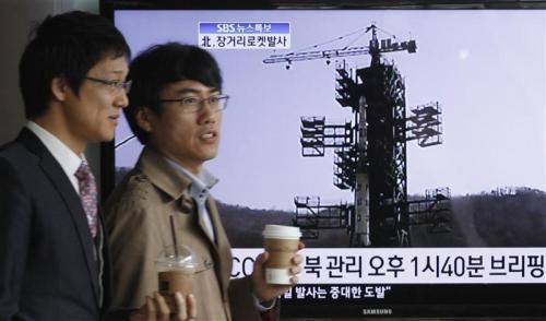 "reuters:  Embarrassed by rocket crash, North Korea may try nuclear test North Korea said its much hyped long-range rocket launch failed on Friday, in a very rare and embarrassing public admission of failure by the hermit state and a blow for its new young leader who faces international outrage over the attempt. The isolated North, using the launch to celebrate the 100th birthday of the dead founding president Kim Il-sung and to mark the rise to power of his grandson Kim Jong-un, is now widely expected to press ahead with its third nuclear test to show its military strength. ""The possibility of an additional long-range rocket launch or a nuclear test, as well as a military provocation to strengthen internal solidarity is very high,"" a senior South Korean defense ministry official told a parliamentary hearing. READ MORE: North Korea may try nuclear test next"