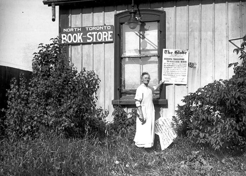 """North Toronto Book Store"" - July 1922 City of Toronto Archives"
