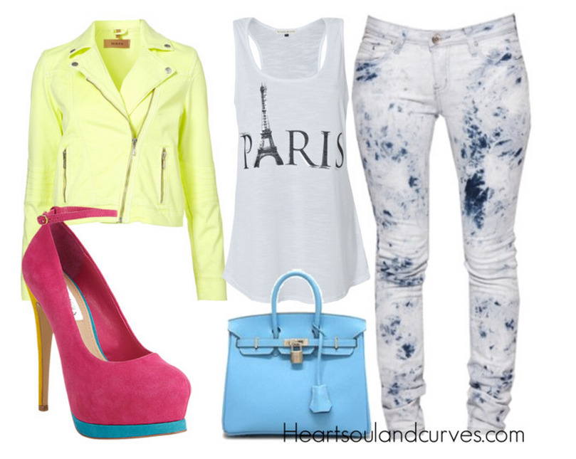 How To Wear Color Block Heels (Part 4)… If I was your stylist