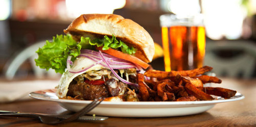 Our restaurant reviewer Robert Moss makes the case for the grass-fed burgers at Triangle Char & Bar.
