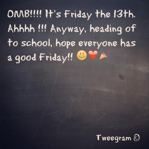 #tweegram  #fridaythe13 #ahhhh #scary (Taken with instagram)
