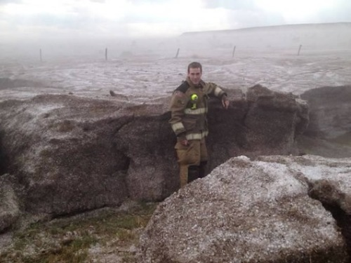 4 feet of hail falls on West TexasA photo of chest-deep hail is generating plenty of skepticism online, but according to weather experts and local witnesses, it's all too real.