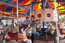 Fair season returns again Warm weather welcomed the 2012 opening of Reithoffer Shows' fair at the Landmark Mall in Alexandria Standalone gallery I shot for The Washington Post.