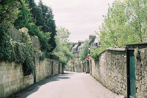 sophaloaffff:  My road in Bath (by meg.an)