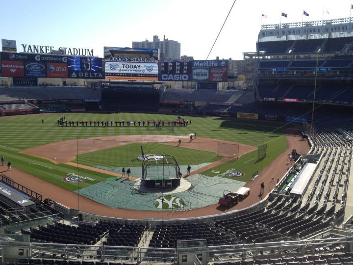 Opening Day at Yankees Stadium.  It's almost time!!