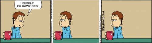 aaronfever:  Garfield Minus Garfield always hits far too close to home.  Yup.