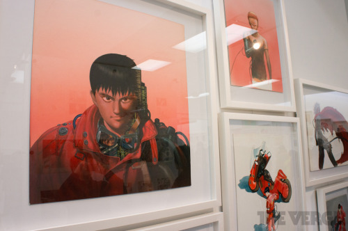 'Akira' creator Katsuhiro Otomo exhibits his life's work The anime master shows off 40 years of work — from Batman to Stanley Kubrick — and hosts a mural-drawing jam session with fans.