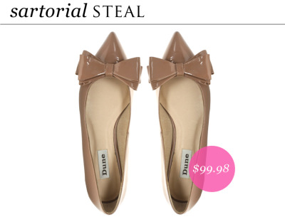 A pair of feminine flats in a wear-with-everything color should be part of your spring wardrobe.
