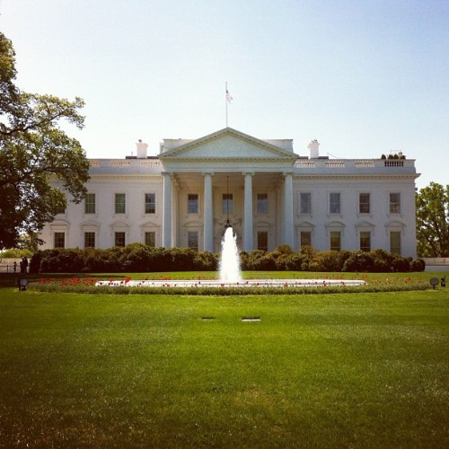 Was in the neighborhood. #obligatory (Taken with Instagram at The White House)