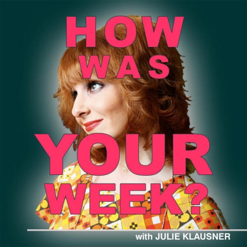 "julieklausner:  Get the new episode of my podcast from iTunes or download/stream it directly here! How Was Your Week: Episode 58""College Hounds: Susan Orlean, Jon Hendren"" Pardon our shoulder-brush, but this episode is just so great. In the ultimate guest-pairing, Julie welcomes two notable personalities to her show this week: author Susan Orlean, and comedy writer Jon Hendren, also known as Twitter user @fart. First off! Susan Orlean—whose new book, Rin Tin Tin: The Life and the Legend, is a superb new addition to the HWYW Book Club—is here to discuss the following topics: >Whether or not a dog can actually act>The pinup-like appeal of the Golden Retriever and the historically challenging heroism of the German Shepherd>What her first tweet was>The Dogville shorts, and what their deal was Then, Jon ""@fart"" Hendren is here to talk about the time he bullied the guy from Smashmouth into eating a whole lot of eggs, why he hates Garfield the cat, what this one Eminem-obsessed guy kept searching for on AOL one time, and whether babies can or should eat cough drops. Also! The looming spectre that is the Three Stooges movie, and how it might affect your weekend according to what gender you are; the unacceptable ""BOING!"" sound effect in this one insanely bad Genesis song; constantly auditioning waiters and how they do not know what words mean sometimes; and how to start a Twitter feud with Leah Remini. One of the best episodes we've done so far, which is saying something.""Something!"" #LOL  @fart and Susan Orlean together is possibly the most important thing that has ever happened."