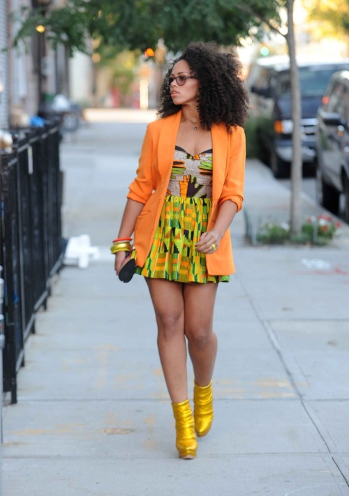 i-live-on-rileystreet:  THat's Elle Varner, Steph  This outfit. That hair. Her body. EVERYTHING!