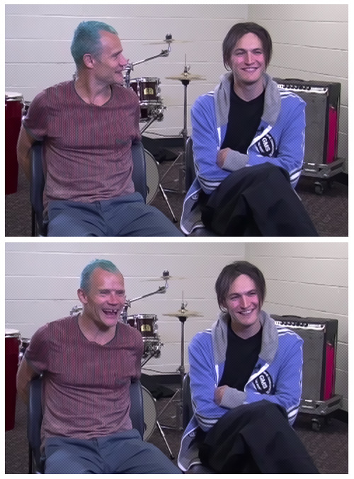 Flea and Josh Klinghoffer talk about the Red Hot Chili Peppers' induction into the Hall of Fame. New interview published April 12th. Watch it here…