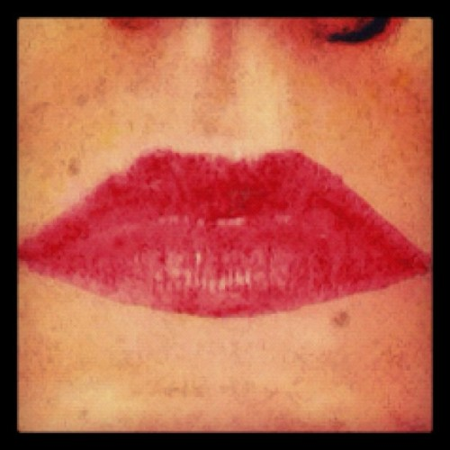 #cfrdnflds #photos #favorites #love #mood #instagood #lipstick #lips #faces #kisses #smooch #mouth #portraits #iphone4s  (Taken with instagram)