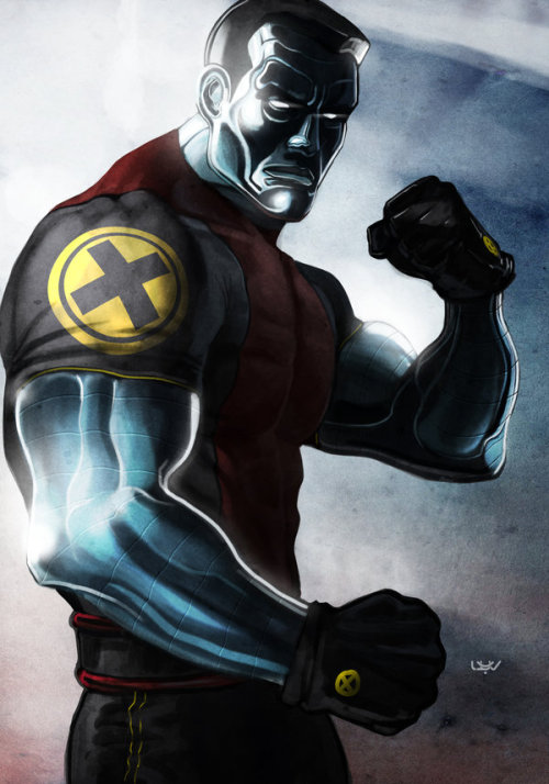 latanieredecyberwolf:  Colossus Fan Art (X-Men Fan Art) — Colossus — by *wyv1