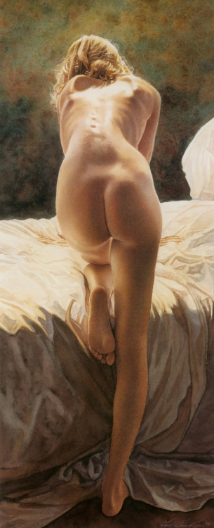 thefineartnude:  Steve Hanks  Good morning…