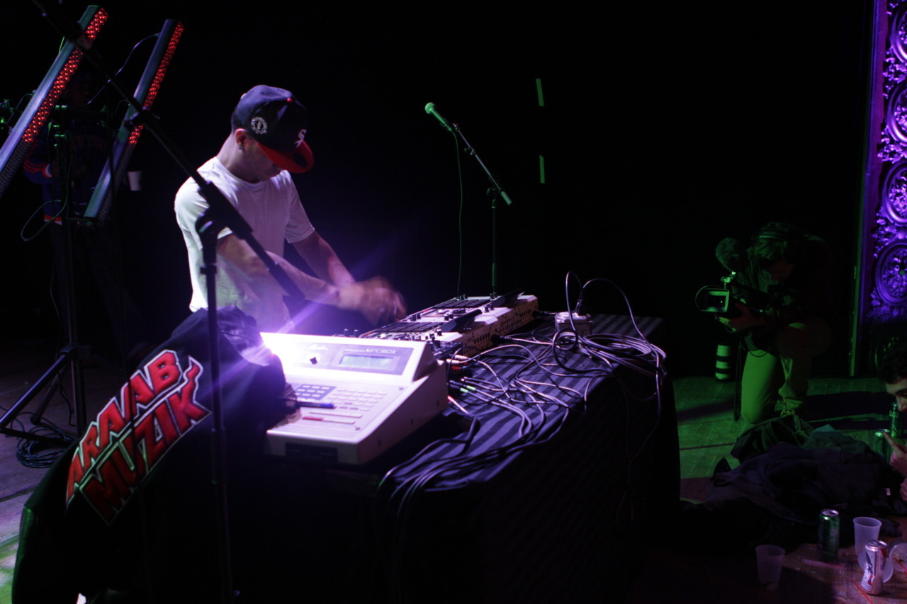 We went on tour with AraabMUZIK.  Watch the video.