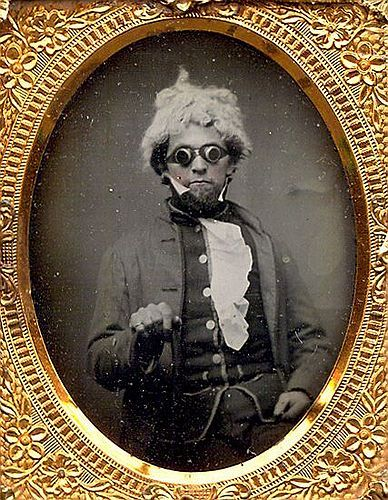maudelynn:  I don't know what is going on in this daguerreotype, but I like it.