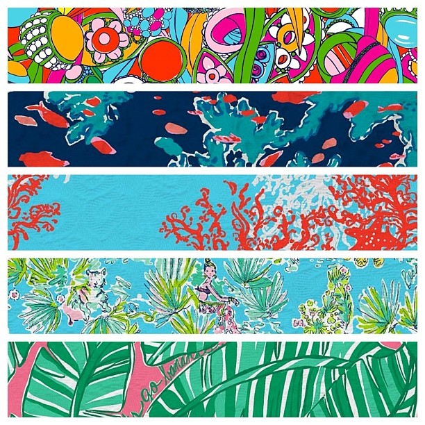 More @lillypulitzer prints I love (Taken with instagram)