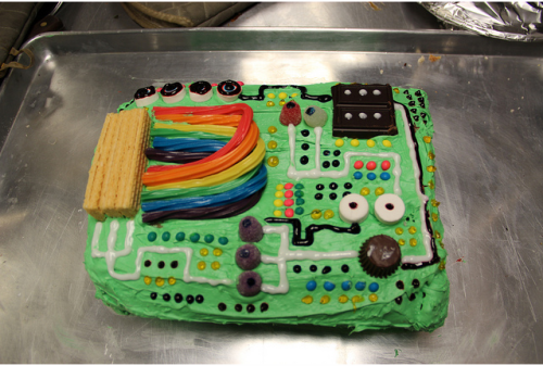 this is a awesome cake. if your a computer geek you'll know why I said that.