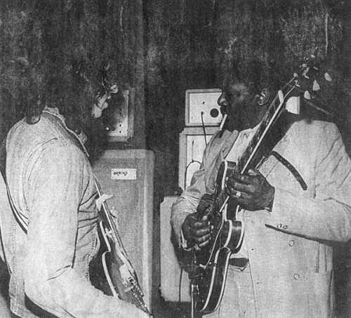 "Peter Green and B.B. KingAmsterdam, 1969 B.B. King once said of Peter Green:- ""He has the sweetest tone I ever heard, he was the only one who gave me the cold sweats."""