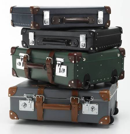 clubmonaco:   Globe Trotter luggage  Packing for Coachella? Globe Trotter is, without a doubt, the best traveling companion.