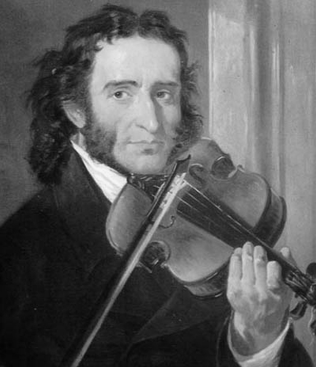 another one of my heroes! Paganini!