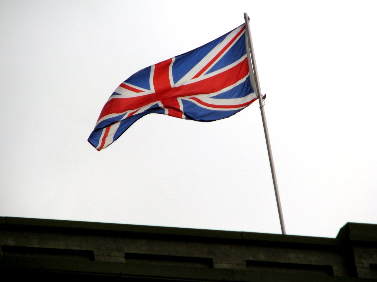 The Union Jack The flag of England flew over Canada, first as an English colony, then the Dominion of Canada presided over by Sir John A. MacDonald.  Those Americans that did not want to revolt against England (yes, there were some!) moved north of the 49th parallel and remained loyalists. Canada's sovereignty was won by negotiation, not blood.