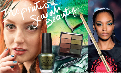 We're obsessed with these scarab beetle inspired beauty products!