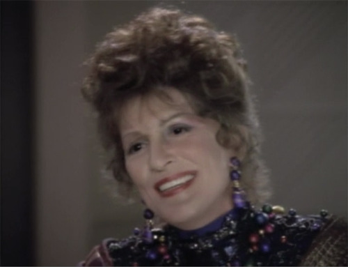 """Life's true gift is the capacity to enjoy enjoyment."" - Lwaxana Troi"
