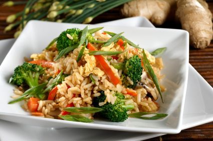 Chef Meg's Better-than-Takeout Chicken Fried Rice. Put down the phone and make this instead—your body and tastebuds will thank you! (via sparkrecipes.com)