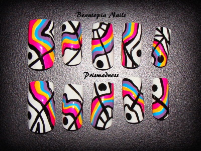 beautopianails:  Prismadness Nail Set - Long