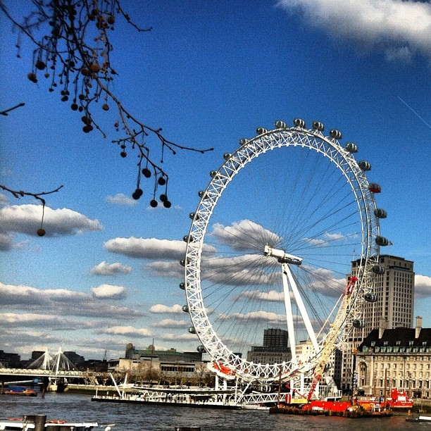 #london 's amazing weather  (Taken with Instagram at The London Eye)