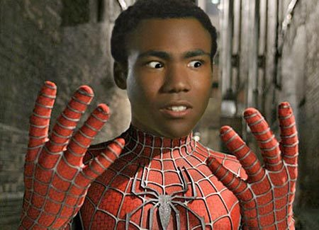 segapower:  Donald Glover as Spider-Man, now there's a reboot I'd enjoy seeing!