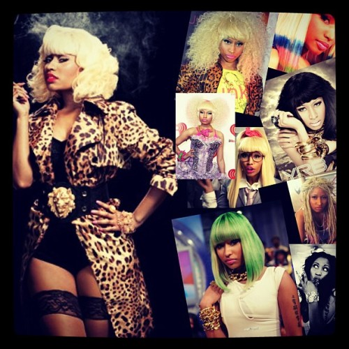 Favorite female #celb #Nicki  (Taken with instagram)