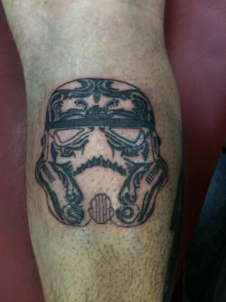 Love seeing my art tattooed!  starwarsfuckyeah:  I really like this!