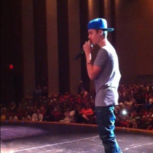 Justin performing at St. Andrews School 4/13/12