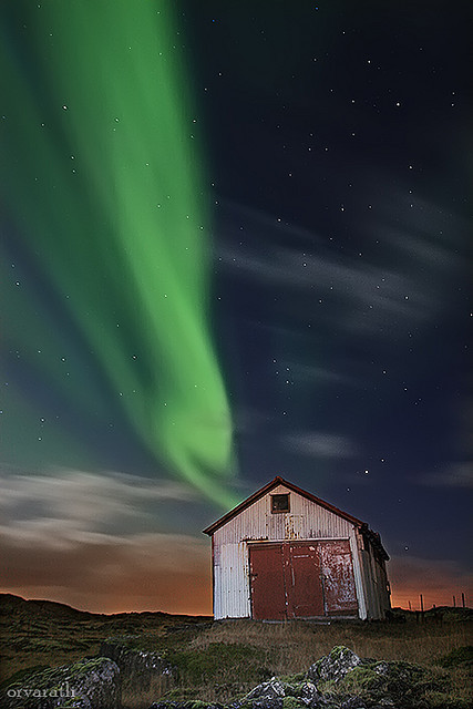 facflickrfavorites:  November Aurora by orvaratli on Flickr.